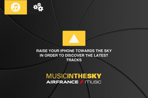 Music in the Sky app