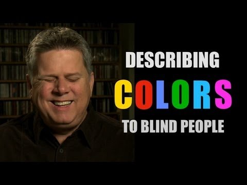 desscribing colors to blind people
